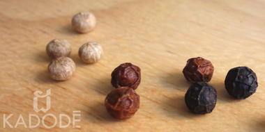 3 types of Kampot pepper