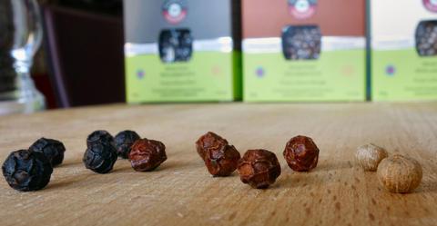 3 types de poivres de Kampot