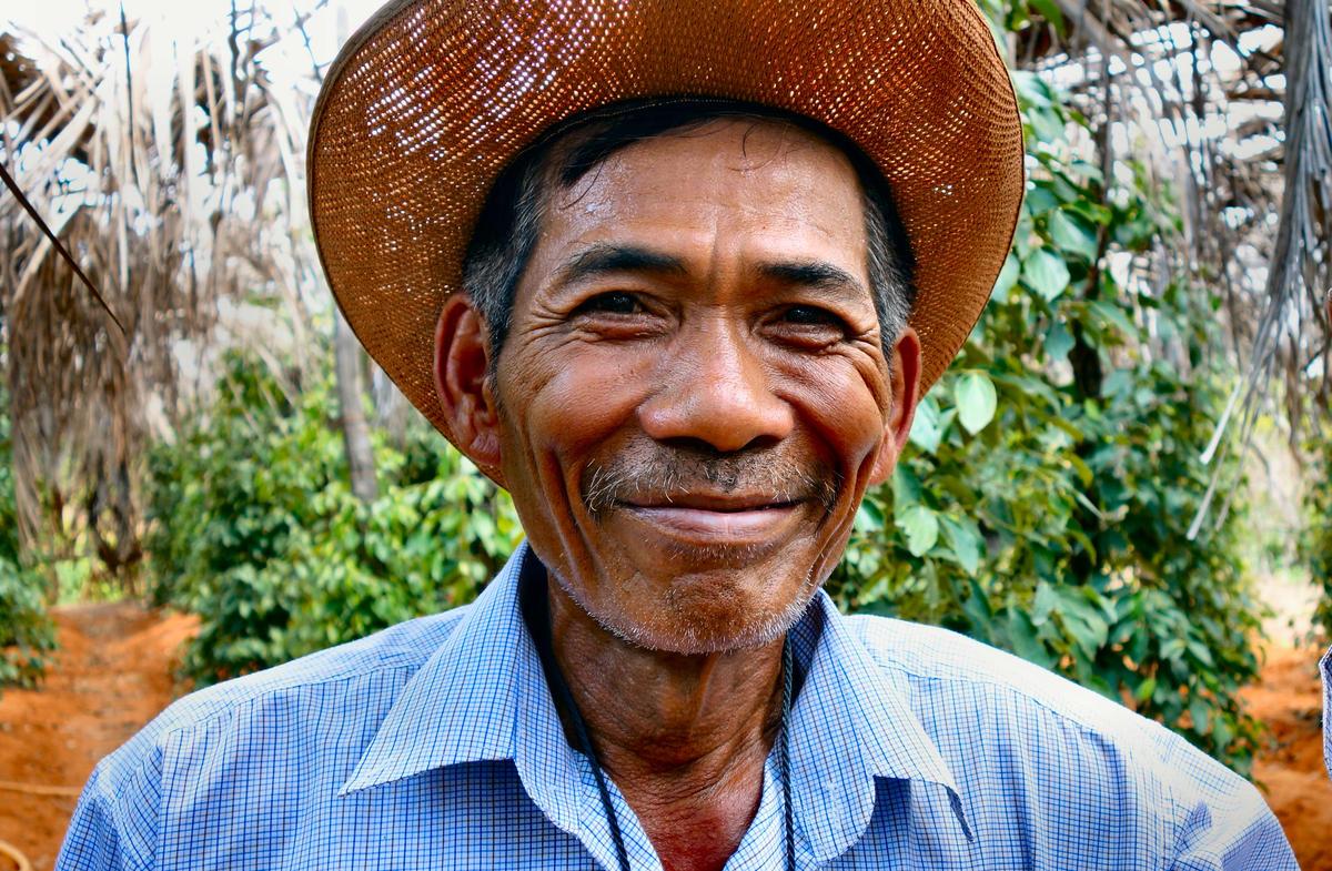 Fermier poivre de Kampot